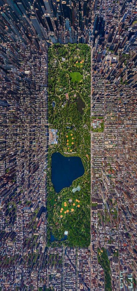 Central Park , NYC  , étonnant , non ?   :-)