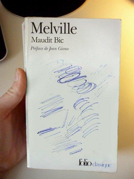 Un peu de littérature avec les livres détournés de Clémentine Mélois ...  :-)