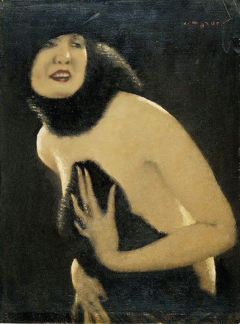 Le jeu des ressemblances ... Alfons Walde , peintre autrichien (1891-1958)   :  erotica   /  Sabine Azéma