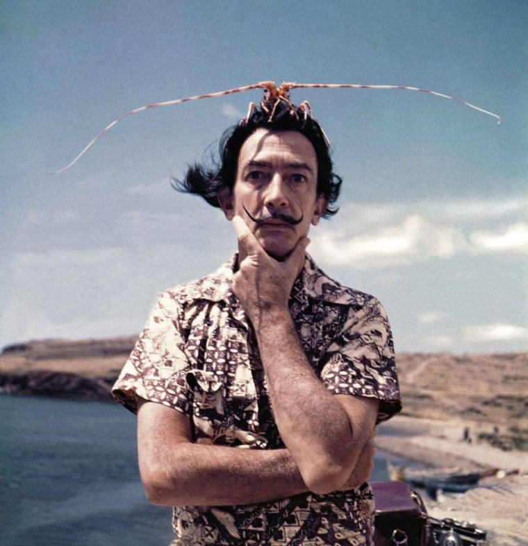 Pour Mademoiselle Ysa ...  Salvador Dali  (1904-1989)