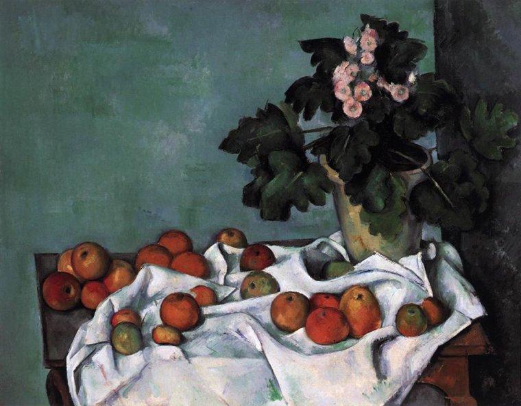 Paul Cézanne (1839-1903)   /  c.1890 , ce peintre me coupe toujours le souffle ...
