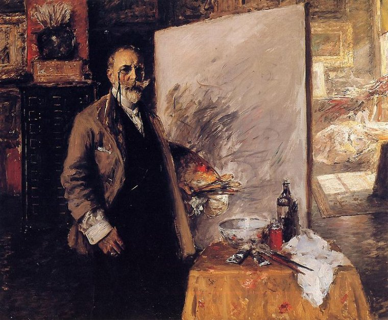 William  MERRITT CHASE  , impressionniste américain  (1849-1916)