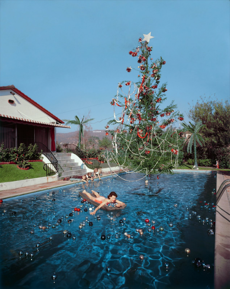 Photo de Slim Aarons, Los Angeles , ca 1955