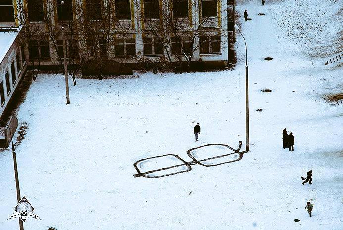 Pavel Puhov ... Z 'avez pas vu mes lunettes ?