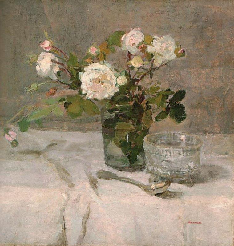 COUP DE COEUR   :    Eva Gonzalès (1849-1883)