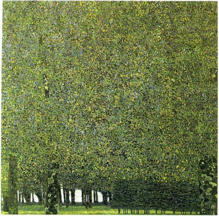 Gustav Klimt  (1862-1918)  , le parc  c.1910