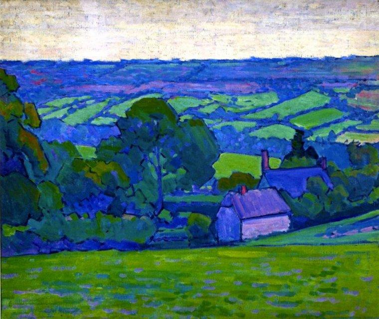 Robert  BEVAN  , peintre anglais (1865-1925)