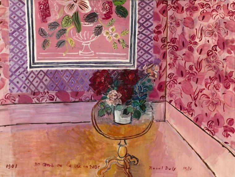 Raoul Dufy  ( 1877-1953 )  30 ans ou la vie en rose