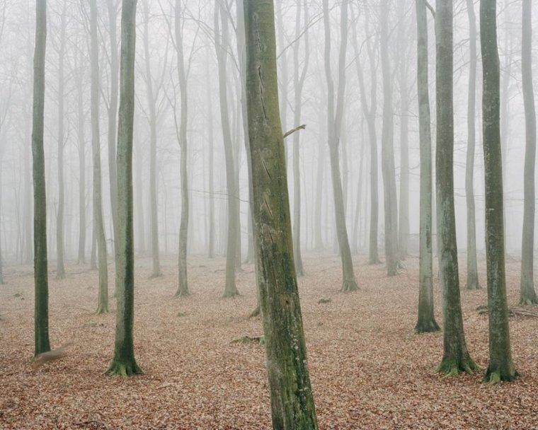 """Trine Søndergaard,  photographe danoise ,  """"The Giant Hill (Kæmpehøjen)"""", 2005"""