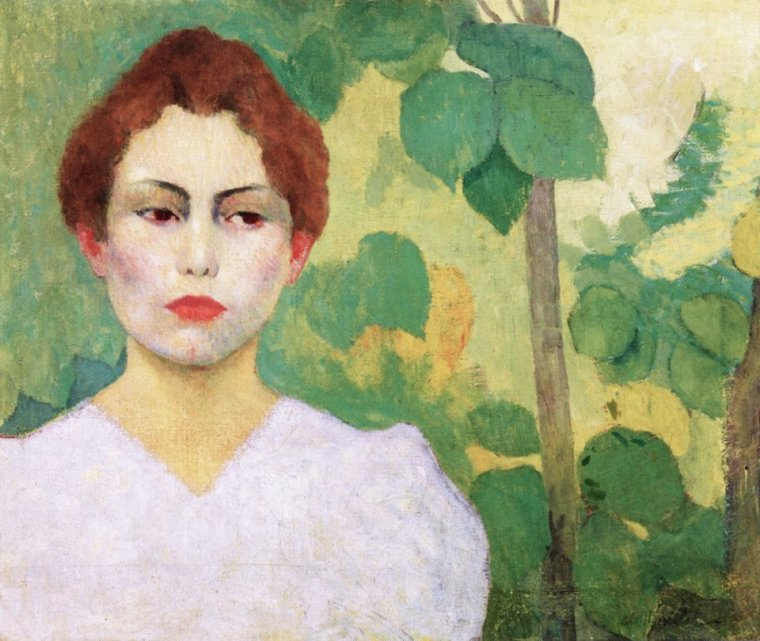 Aristide Maillol    (1861-1944 ) Woman in white