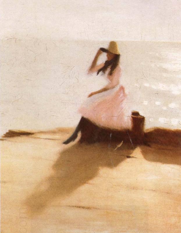 Philip Wilson Steer   ( 1860-1942 )  , peintre anglais impressionniste