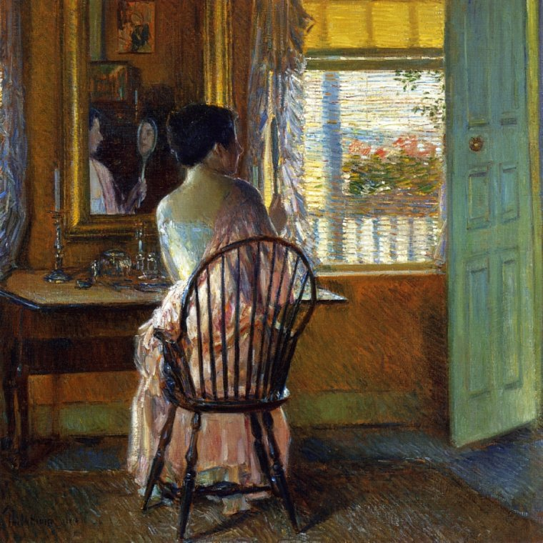 Frederick Childe Hassam   ( 1859-1935 ) , peintre américain impressionniste