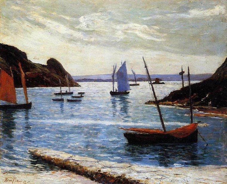 Maxime  MAUFRA  ( 1861-1918 )   : l' île de Bréhat