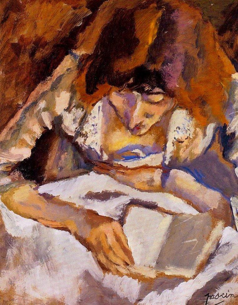 Jules PASCIN  , peintre d'origine bulgare   (1885-1930)