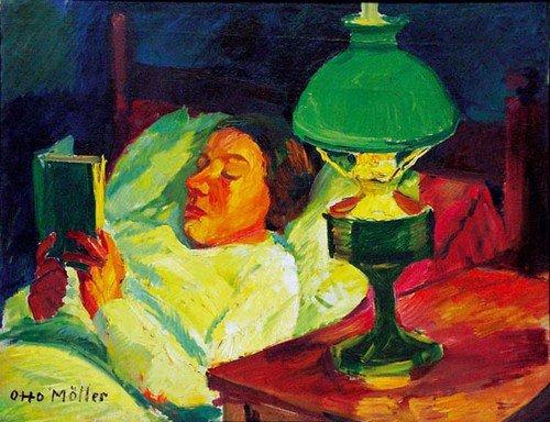 Otto MöLLER  , peintre expressionniste allemand  (1883-1964)