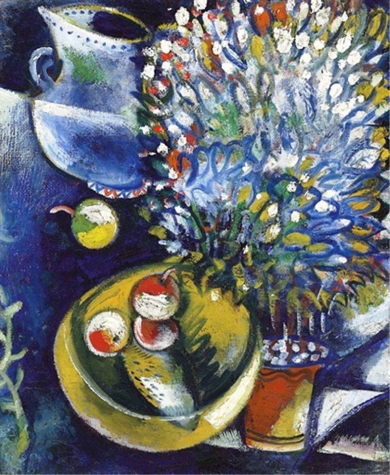 Marc  CHAGALL ( 1887-1985 )
