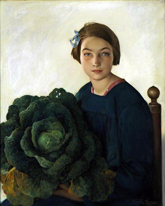 Firmin  BAES  , peintre belge  (1874-1943)    ♥