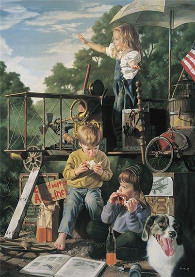 Bob BYERLEY  ,  artiste américain contemp.