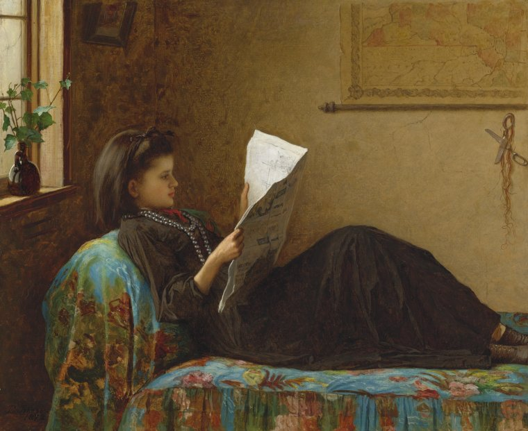 Jonathan EASTMAN JOHNSON  (1824-1906)