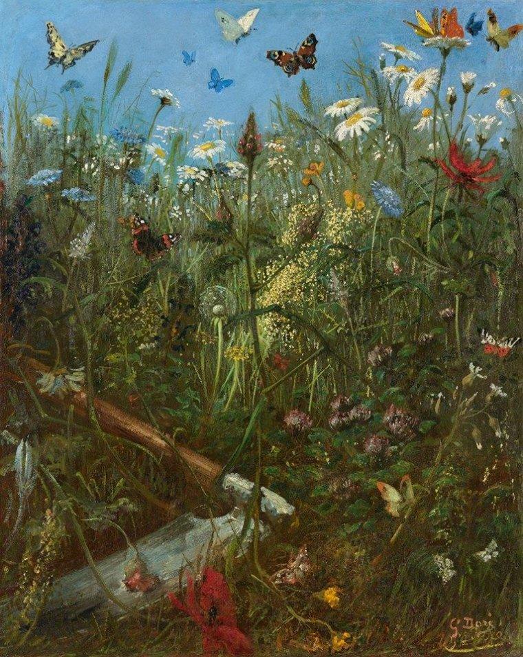 Gustave Doré (1832-1883), La Prairie, c. 1855