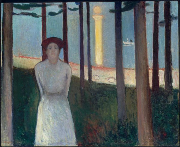 Summer Night's Dream (The Voice) 1893  Edvard  MUNCH