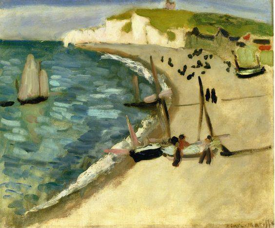 Henri Matisse 1869-1964 Aht Amont Cliffs at Etretat 1920 , MATISSE   for ever   <3