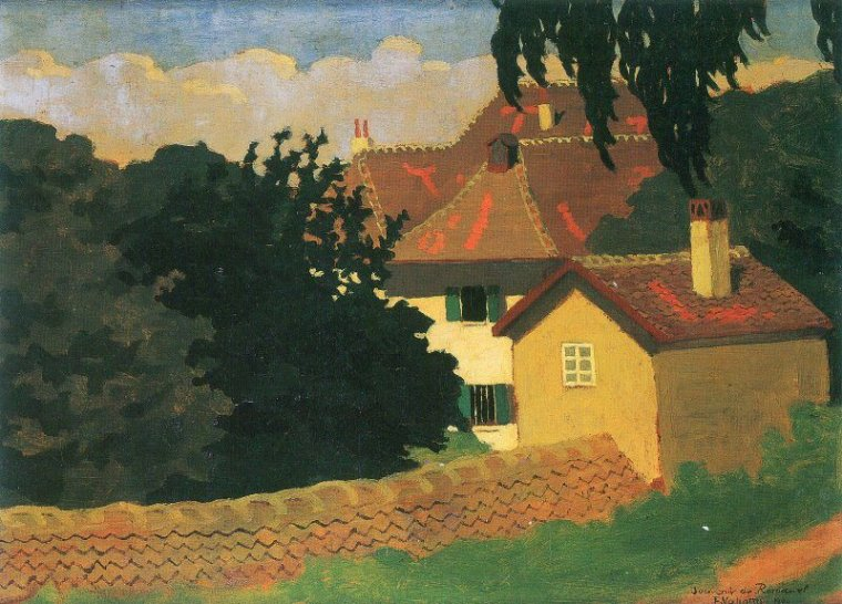 Félix  VALLOTTON  / Maurice  DENIS