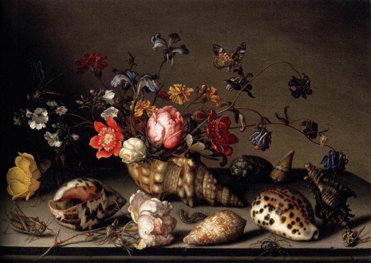 Quelques fleurs pour l'anniversaire de Solange  :  Balthasar VAN DER AST (1593-1657)