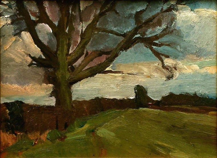 JOHN DUNCAN FERGUSSON. Scottish 1874-1961