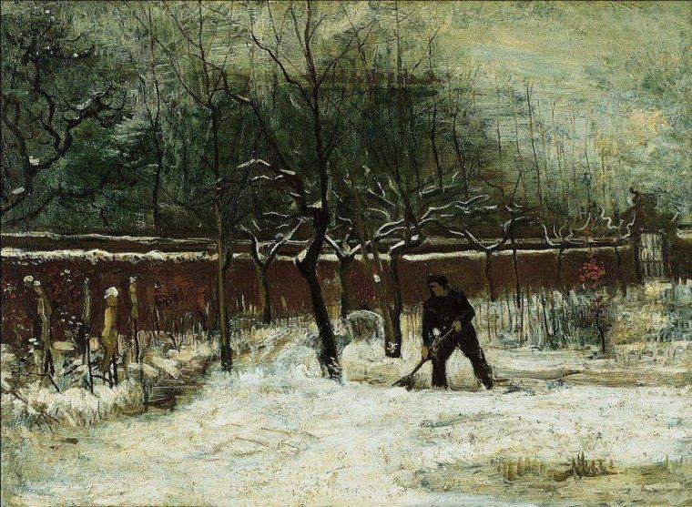 L'hiver 1885  , Vincent VAN  GOGH