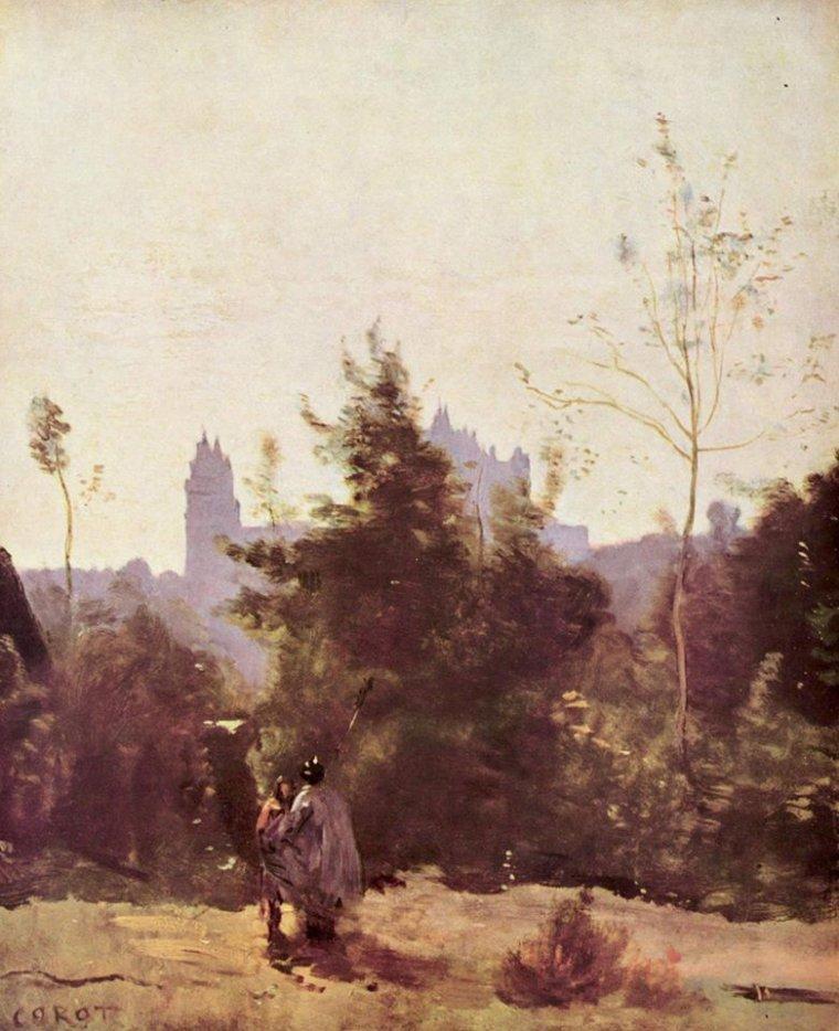 JEAN BAPTISTE CAMILLE COROT - 1796-1875