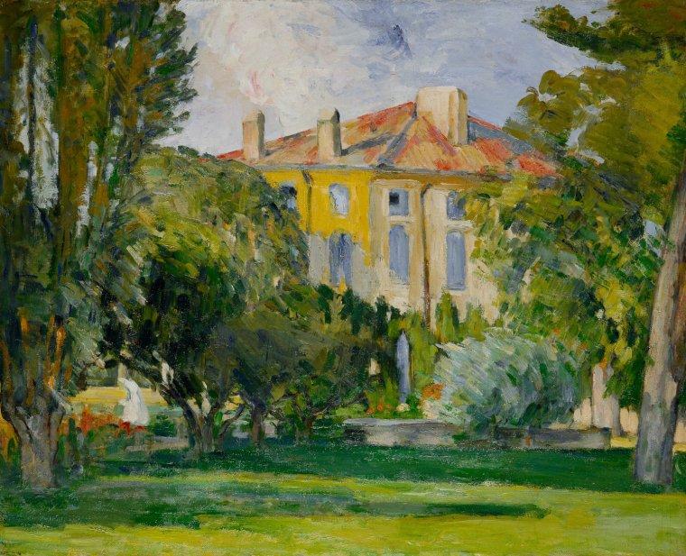 Paul  CEZANNE  La Maison du Jas de Bouffan, 1875