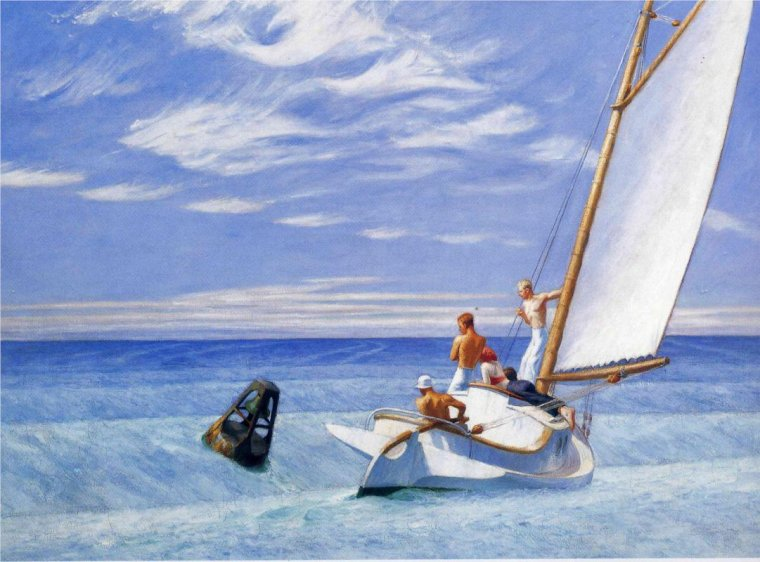 Edward Hopper, Ground Swell, 1939