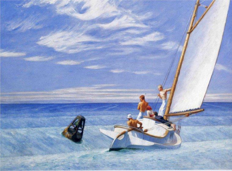 Edward Hopper, Ground Swell, 1939