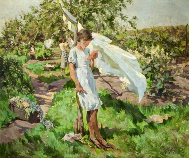 Airy, Anna (1882-1964) Message of may, 1937