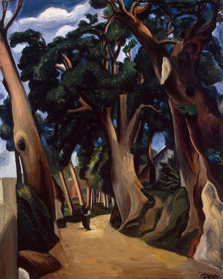 Andre Derain - The Road to Castel Gandolfo