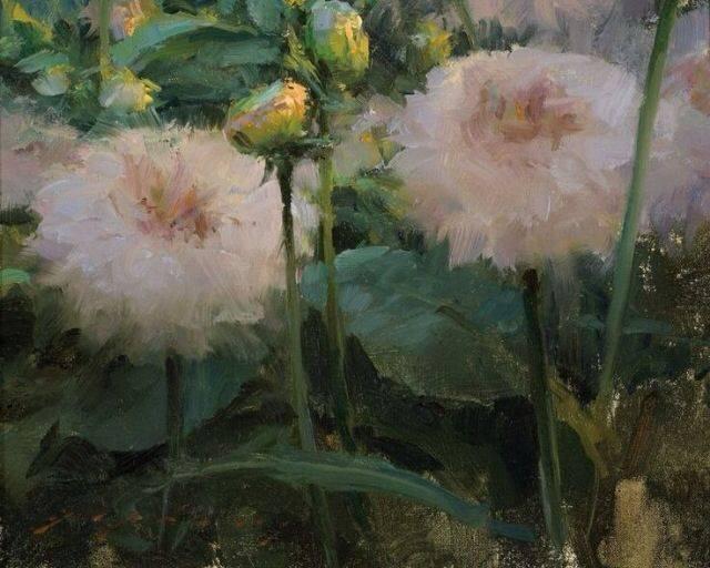 Jeremy Lipking  , peintre réaliste contemporain américain né en 1975, talentueux, dans la lignée de John Singer Sargent, Joaquin Sorolla and Anders Zorn,