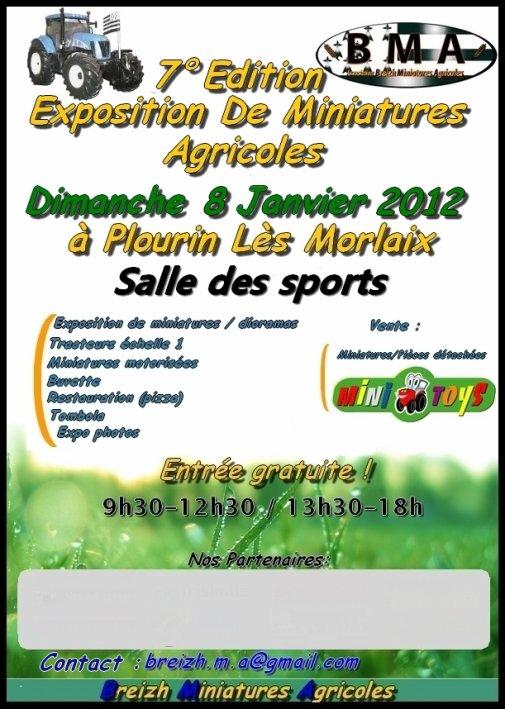 Exposition Plourin-lès-Morlaix 2012 par Breizh Miniature Agricole