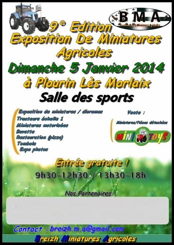 Expo Plourin-lès-Morlaix 2014