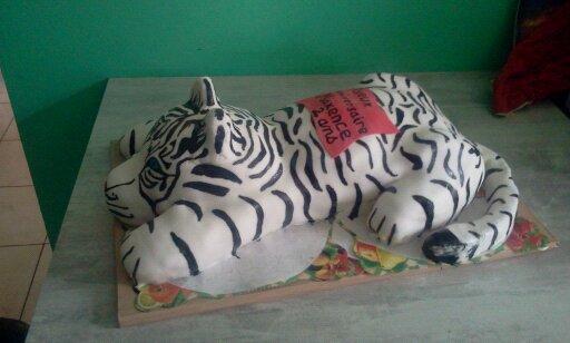GпїЅteau tigre