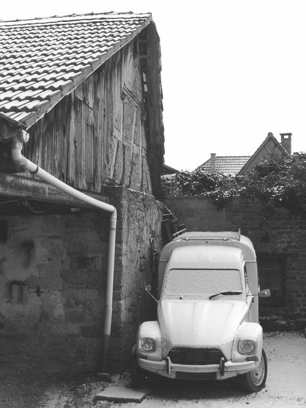Photo Citroën acadiane de mon père