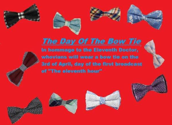 La journée du Bow Ties Whovien