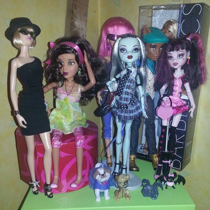 Les poupées des 3 M !