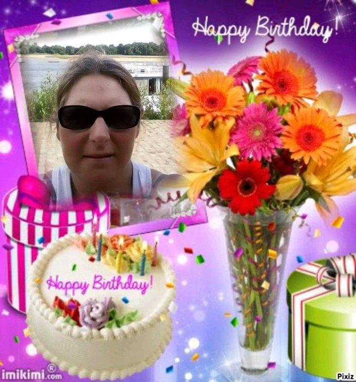 Cadeau pour mon amie Sandrine