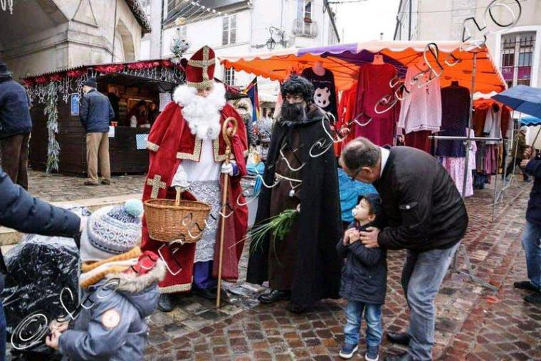 La ville de dourdan qui fête la saint Nicolas