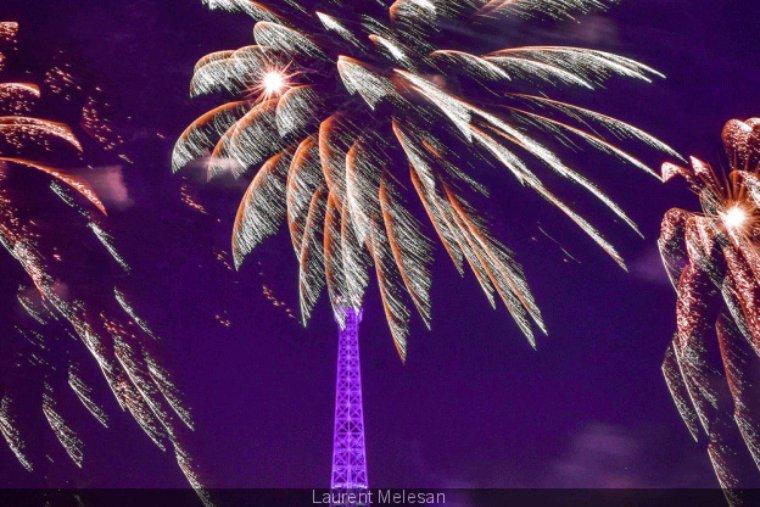 Le feu d artifice du 14 juillet 2019 a la tour Eiffel