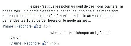 BUZZ Polonais sur FB