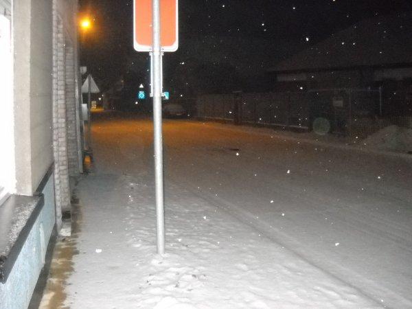 Nôtre rue sous la neige