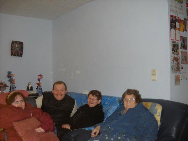 01 janvier 2011,chez ma maman