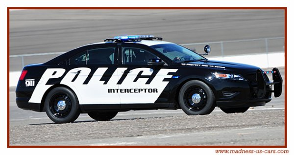 Ford Taurus Police 2012